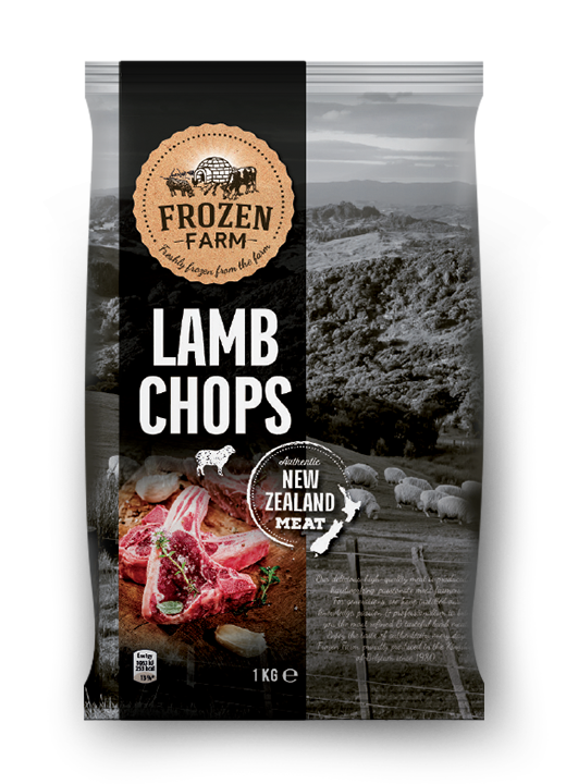 15 pound bag of frozen pork falls from the sky onto roof ... |Frozen Lamb Chops